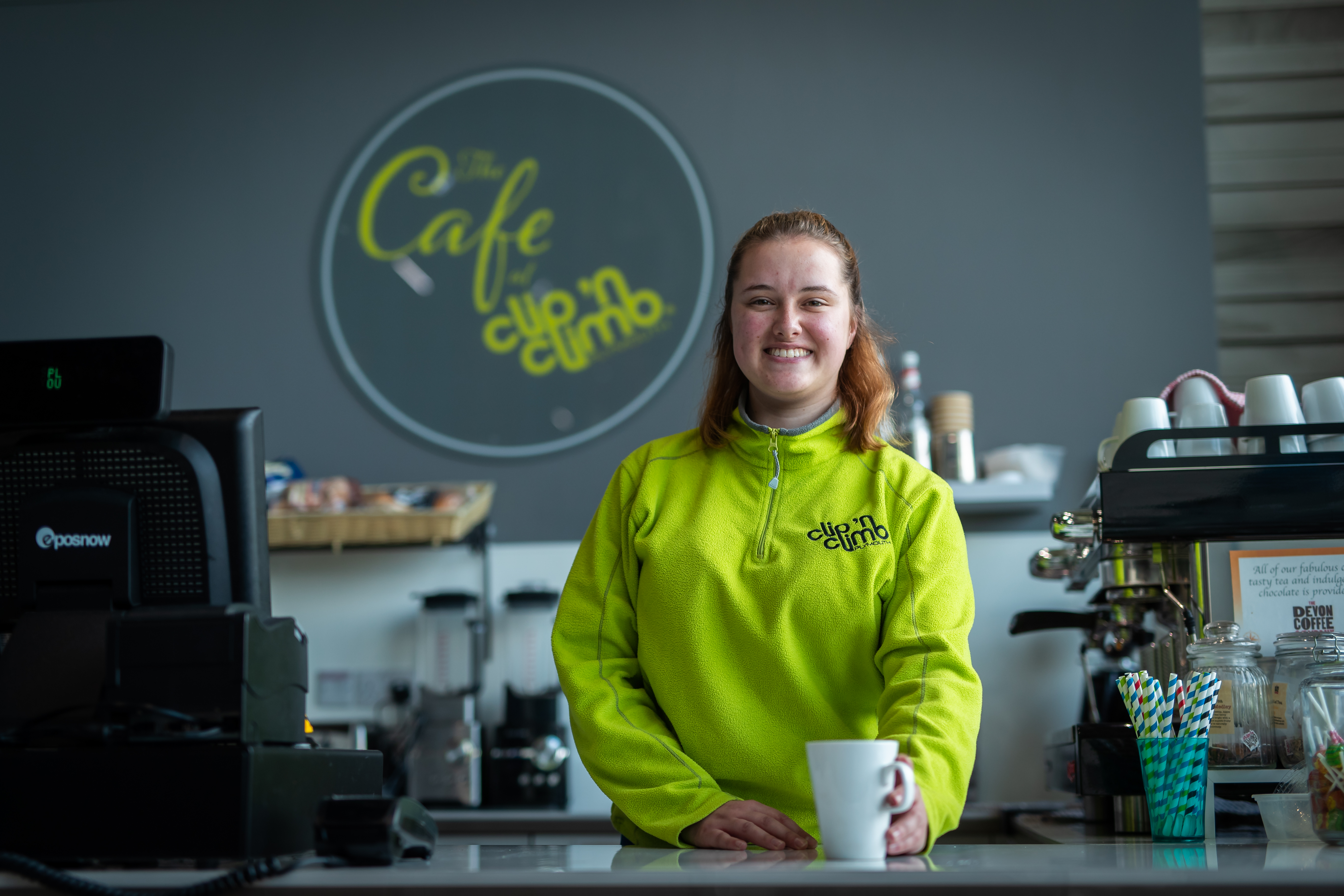 WELCOME TO THE CAFE AT CLIP 'N CLIMB DUNDONALD